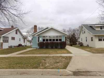 Janesville WI Single Family Home For Sale: $122,500