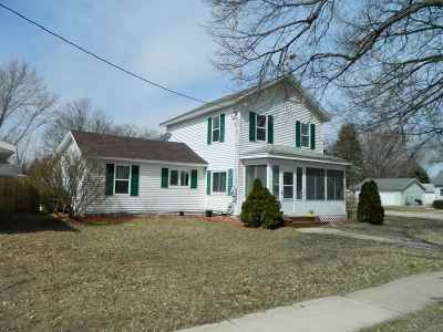 Green County Single Family Home For Sale: 1601 W 3rd Ave