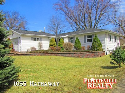 Platteville Single Family Home For Sale: 1055 Hathaway St