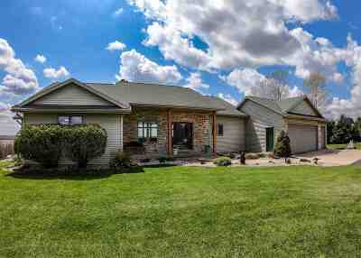 Green County Single Family Home For Sale: W5253 Highland Dr