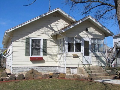 Green County Single Family Home For Sale: 201 S Madison St