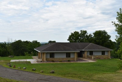 Green County Single Family Home For Sale: N8431 County Road E