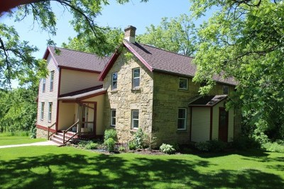 Iowa County Single Family Home For Sale: 4350 County Road K