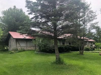 Columbus Single Family Home For Sale: W485 Lienke Rd-35 Acres