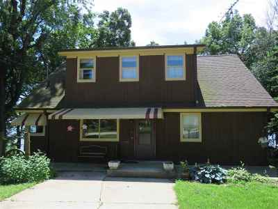 Dodge County Single Family Home For Sale: N8549 Sunset Beach Rd