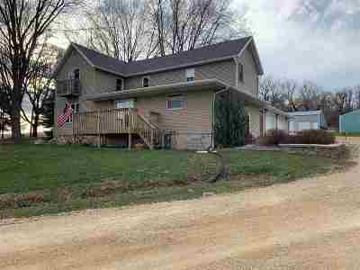 Columbia County Single Family Home For Sale: W1636 Rupnow Rd
