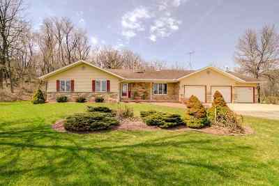Mount Horeb Single Family Home For Sale: 3149 County Road P