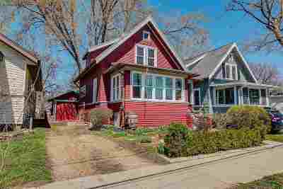 Madison Single Family Home For Sale: 2554 E Johnson St
