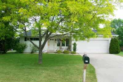 Evansville Single Family Home For Sale: 612 E Countryside Dr