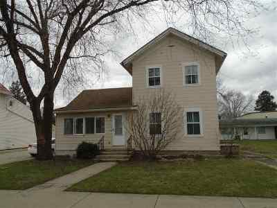 Black Earth Single Family Home For Sale: 1138 Mills St