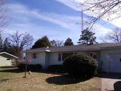 Adams WI Single Family Home For Sale: $94,900