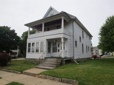 Rock County Multi Family Home For Sale: 628-630 S Jackson St