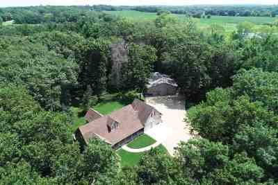 Columbia County Single Family Home For Sale: N4628 Domes Rd