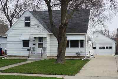 Rock County Single Family Home For Sale: 464 N Palm St