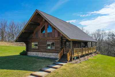 Iowa County Single Family Home For Sale: 2577 County Road H