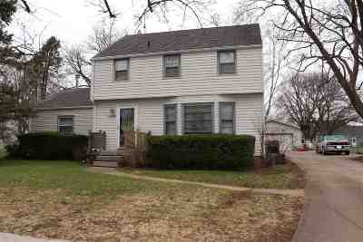 Rock County Single Family Home For Sale: 1419 Sherman Ave