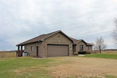 Green County Single Family Home For Sale: N4820 Klondike