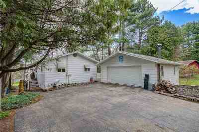 Single Family Home For Sale: N2250 Ferry View Cir
