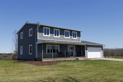 Green County Single Family Home For Sale: W7284 Hustad Valley Rd
