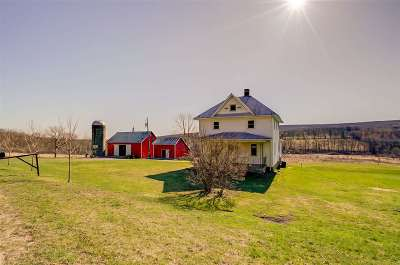 Sauk County Single Family Home For Sale: S6024a Happy Hill Rd