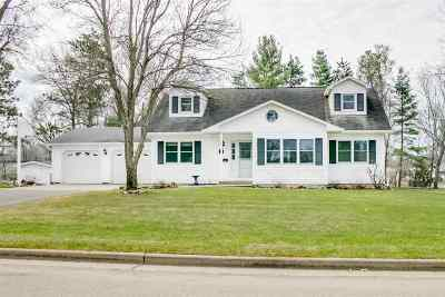 Adams WI Single Family Home For Sale: $189,900