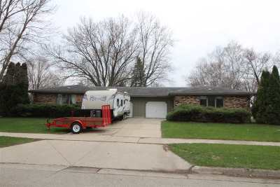 Janesville Multi Family Home For Sale: 1015-1017 Erie Dr