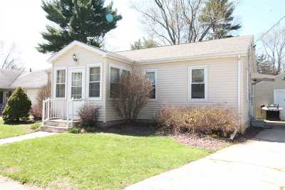 Janesville Single Family Home For Sale: 115 N Pine St