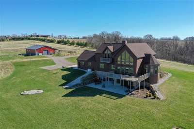 Green County Single Family Home For Sale: N8594 Hay Hollow Rd