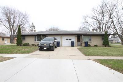 Janesville Multi Family Home For Sale: 1132-1134 Hoover St