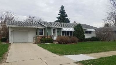 Janesville Single Family Home For Sale: 1710 W Luther Rd