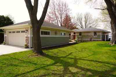 Stoughton Single Family Home For Sale: 2295 Williams Point Dr