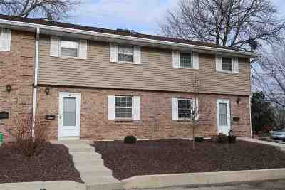Madison WI Condo/Townhouse For Sale: $124,900