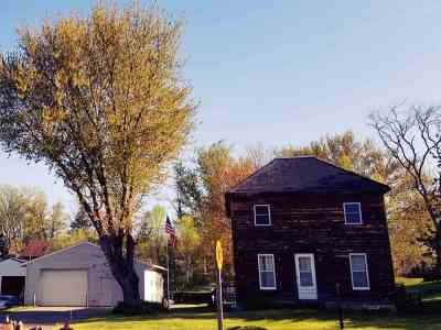 Merrimac WI Single Family Home For Sale: $159,000