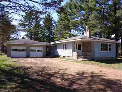 Friendship WI Single Family Home For Sale: $69,900