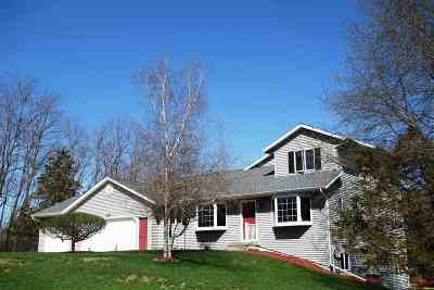 Prairie Du Sac Single Family Home For Sale: S9724 Pine Meadow Rd