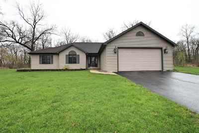 Walworth County Single Family Home For Sale: W8831 County Road X