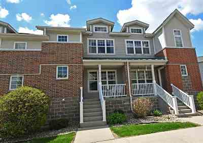 Fitchburg Condo/Townhouse For Sale: 5435 Caddis Bend