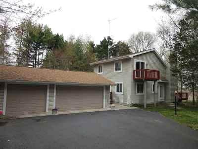 Wisconsin Dells Single Family Home For Sale: N8500 Nevar Dr