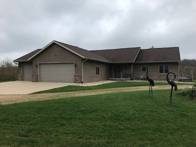Iowa County Single Family Home For Sale: 180 County Road F