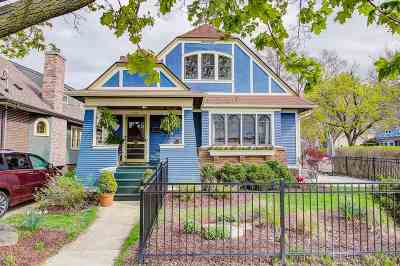 Madison Single Family Home For Sale: 1503 Spaight St