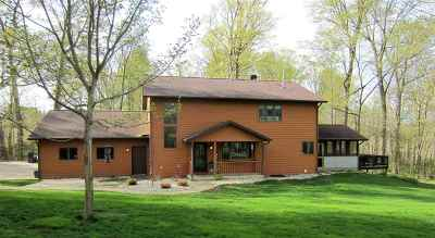 Single Family Home For Sale: N2645 Greenbush Rd