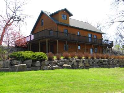 Green County Single Family Home For Sale: W2962 County Road Ee