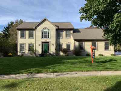 Madison Single Family Home For Sale: 6706 Colony Dr