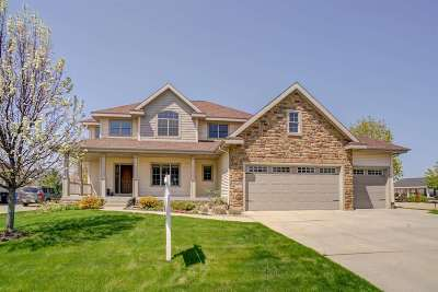 Waunakee Single Family Home For Sale: 1723 Daily Dr
