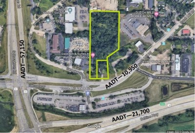 Madison Residential Lots & Land For Sale: 4538 E Broadway Service Rd