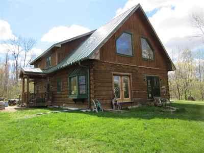 Sauk County Single Family Home For Sale: E4153 Cummings Rd