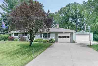 Waunakee Single Family Home For Sale: 5592 La Buwi Ln