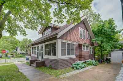 Madison Single Family Home For Sale: 319 N Few St