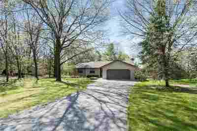 Wisconsin Dells Single Family Home For Sale: N9075 Tofson Dr