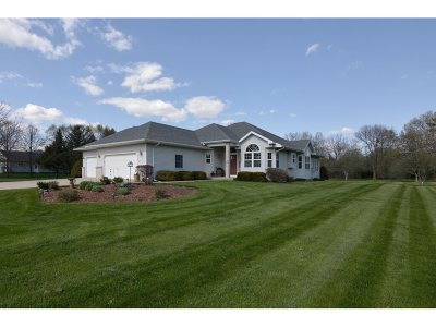 Green County Single Family Home For Sale: W3240 Schaefer Rd